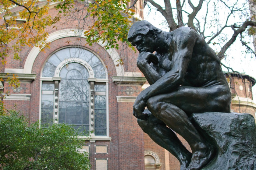 Thinker at Columbia University